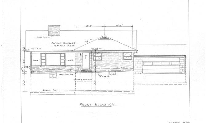 Our Mid Century Split Level House Plans