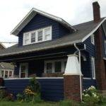 Our Navy Blue House Craftsman Bungalow Fixer Upper