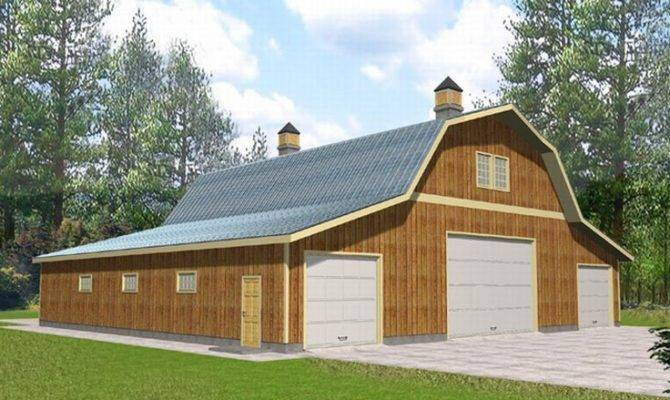 Outbuilding Plans Barn Style Design