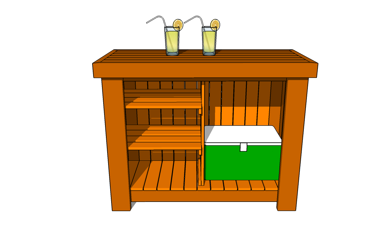 Outdoor Bar Plans Diy Shed Wooden Playhouse Home