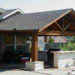 Outdoor Bbq Area Covered Patio Ideas