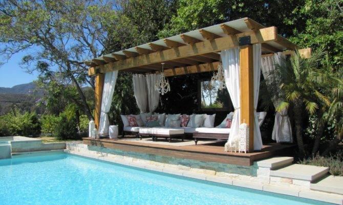 Outdoor Cabana Kitchens Cabanas Pinterest Homes