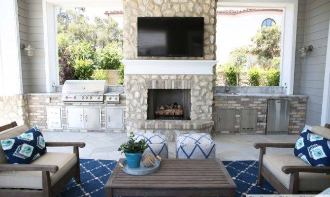 Outdoor Entertaining Area Sunny Side Blog