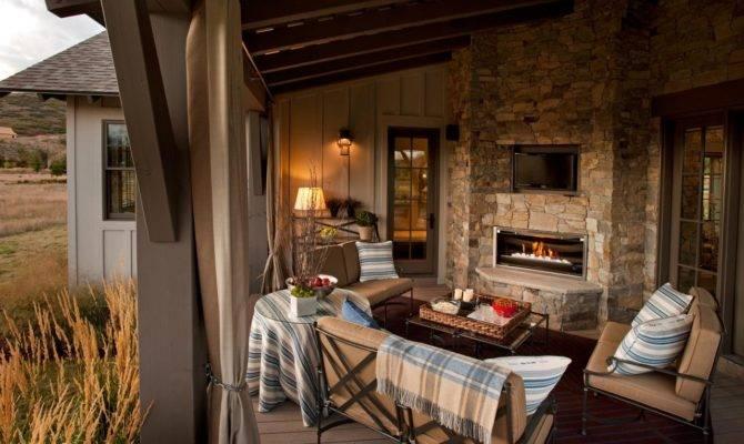 Outdoor Fireplace Design Ideas Hgtv