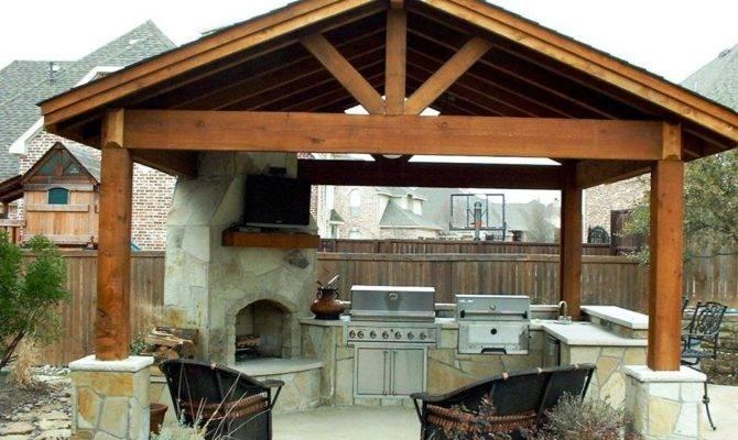 Outdoor Kitchen Design Plans Home Improvement