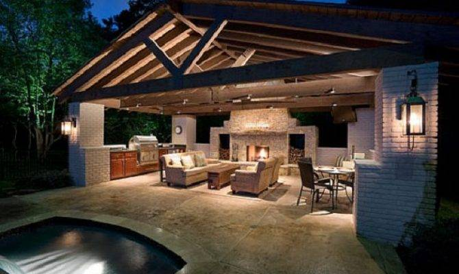 Outdoor Kitchen Designs Beautiful