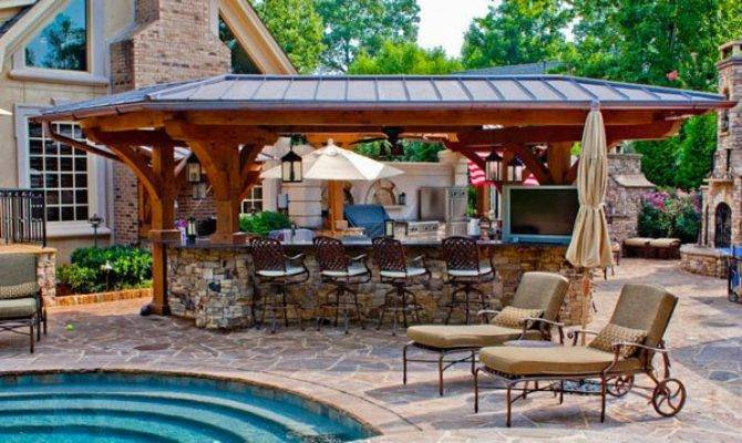 Outdoor Kitchen Designs Great Cooking Aura Home