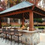 Outdoor Kitchen Designs Pool House Plans