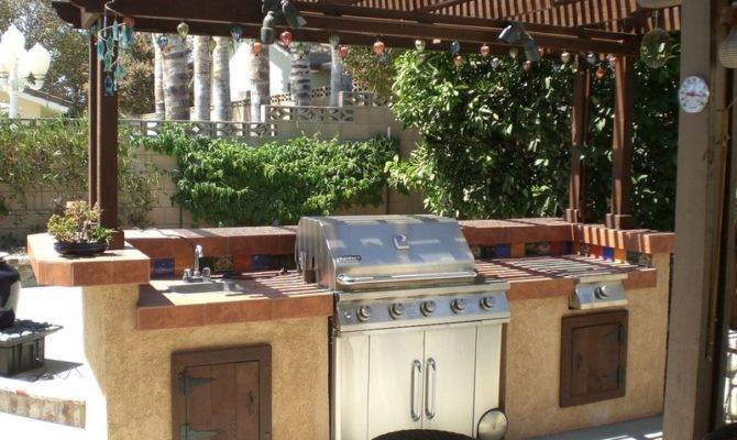 Outdoor Kitchen Plans Turn Your Backyard Into