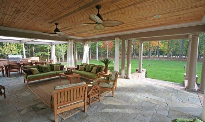 Outdoor Living Area Design Construction Company Virginia