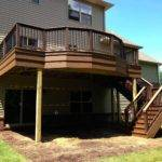 Outdoor Living January Deck Walkout Basement