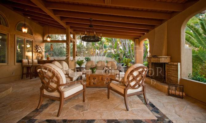 Outdoor Living Rooms Cabanas Spaces Western