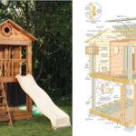 Outdoor Playhouse Plans Loft Your Backyard Diy