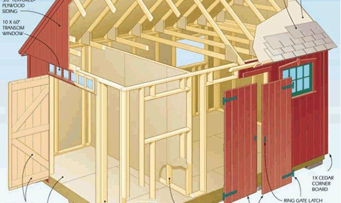 Outdoor Shed Blueprints Storage Kits Best Advice