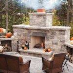 Outdoor Stone Fireplace Kits