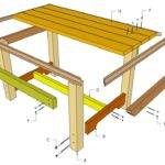 Outdoor Table Plans Diy Shed Wooden Playhouse