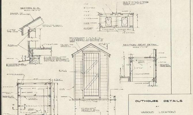 Outhouse Blueprints Compass Plane Sale