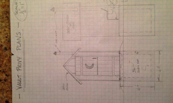 Outhouse Plan