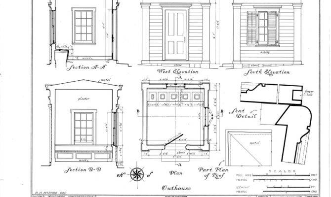 Outhouse Plans Building Historic