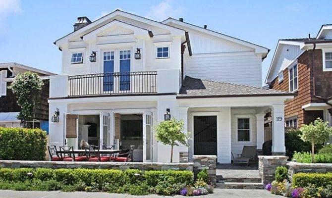 Outstanding Custom Nantucket Style Home Little Balboa Island