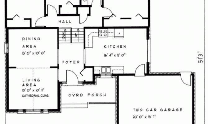 Outstanding Front Back Split House Plans Ideas