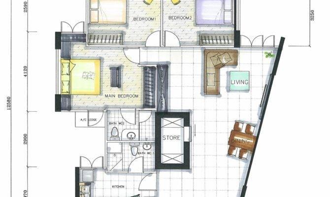Outstanding Master Bedroom Interior Design Plan