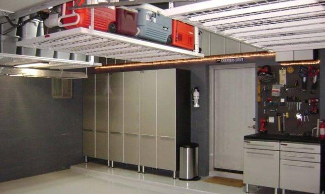 Overhead Garage Storage Wise Decision Elliott Spour House