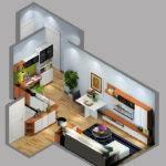 Overlooking Small House Design Ideas