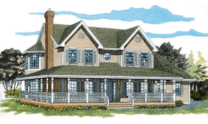 Painted Creek Country Farmhouse Plan House