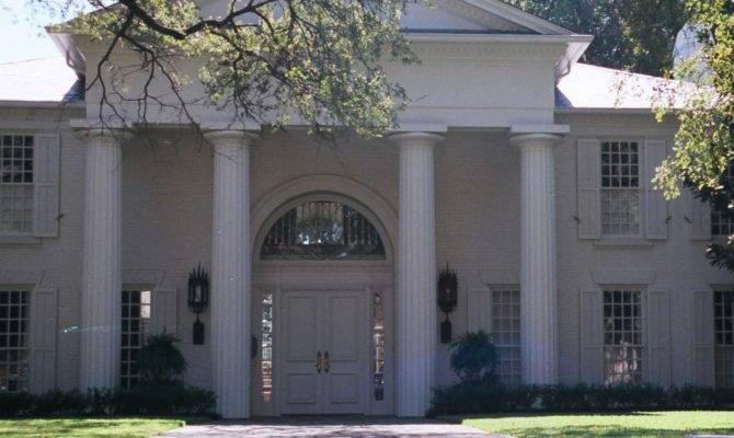 Painting Decorating New Greek Revival Style Residence