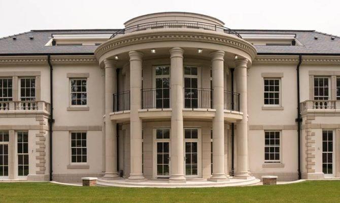 Palladian Mansion Formby John Knight Glass