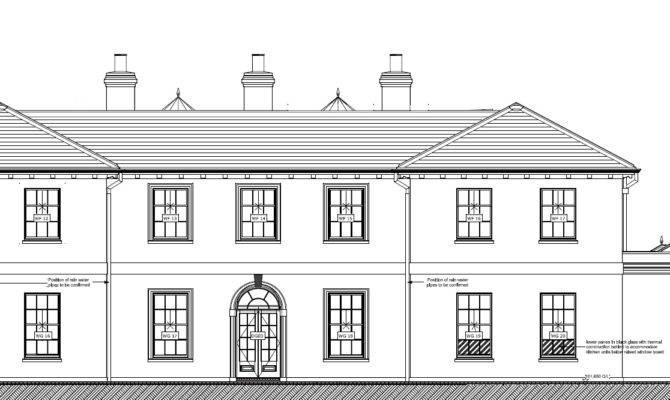 Palladian Style Home Plans Design