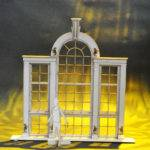 Palladian Window Model Box
