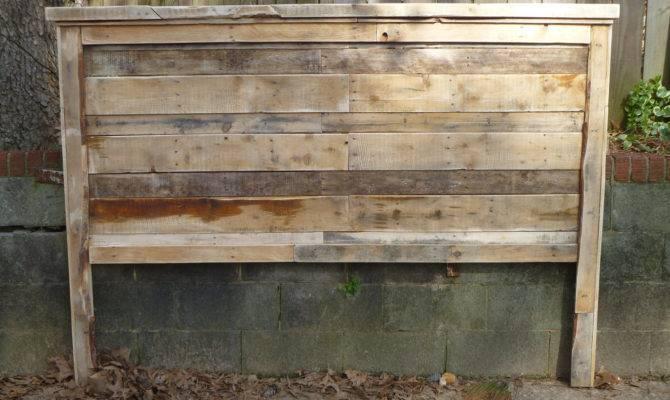 Pallet Farmhouse Style Headboards King Jessicaashlock