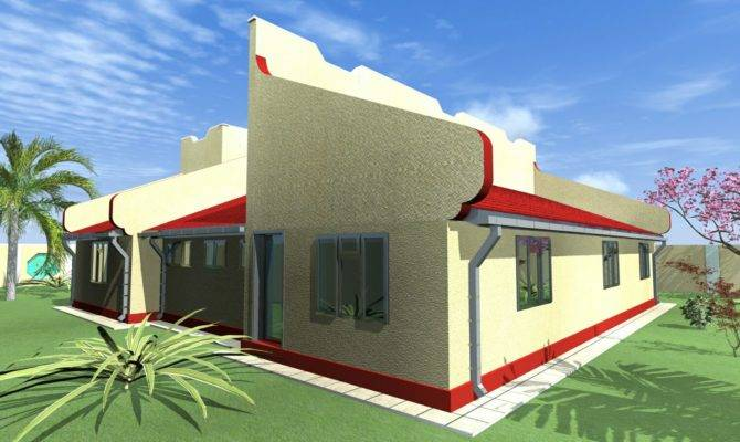 Parapet House Plans Home Mansion