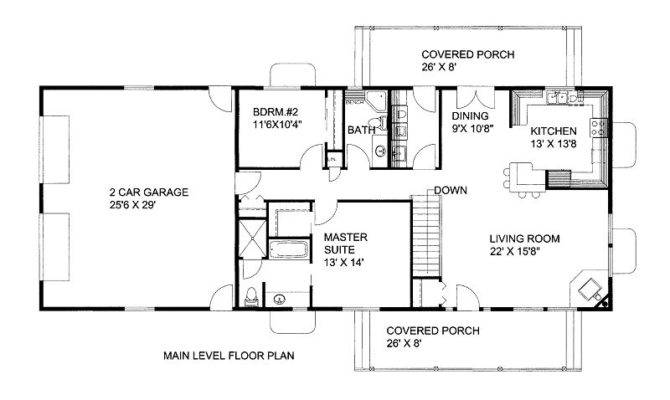 Parking Space Levels House Plan All Plans