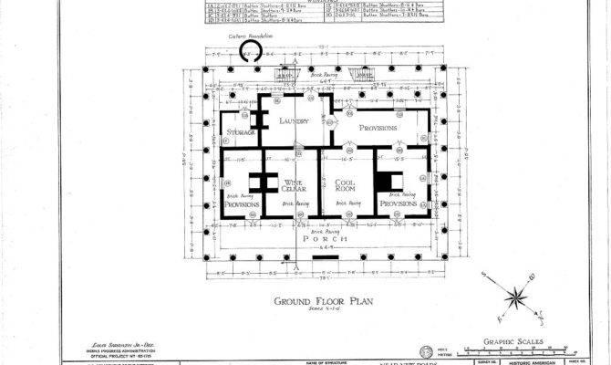 Parlange Plantation House New Roads Louisiana Basement Floor Plan