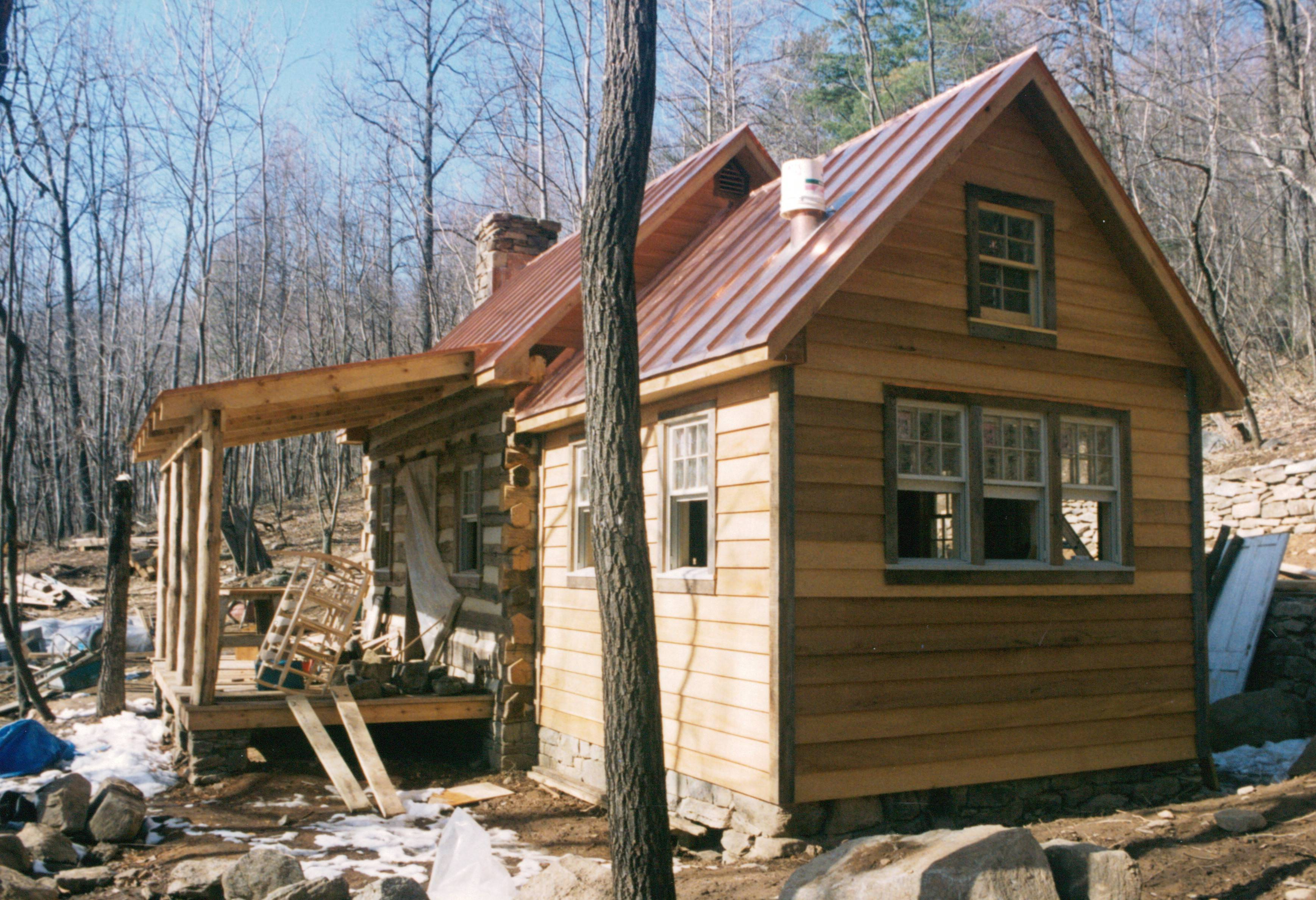 Part Four Building Rustic Cabin Handmade Houses