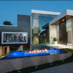 Part One Modern Mansion Wrap Around Pool Glass Walled Garage