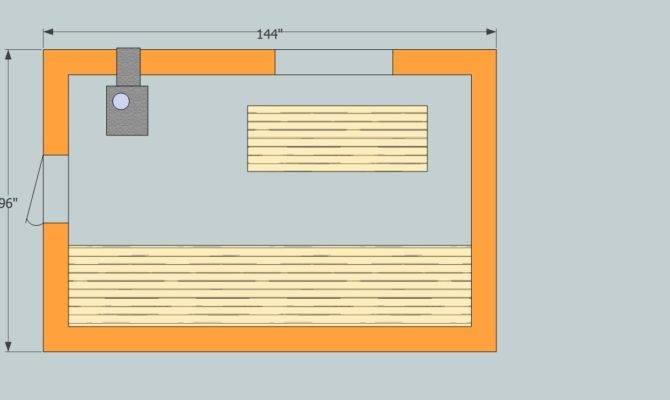 Party Sauna Floor Plan