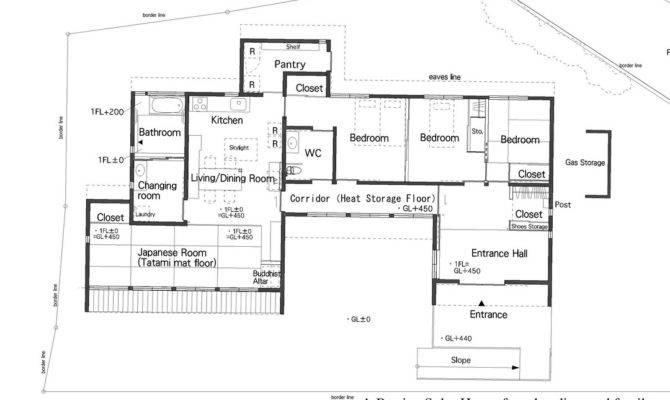 Passive Solar House Floor Plans Second Sun