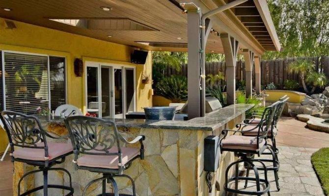 Patio Bar Ideas California Decor Outdoor