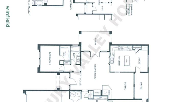 Patio Home Floor Plans Luxury Valley Homes Winfield
