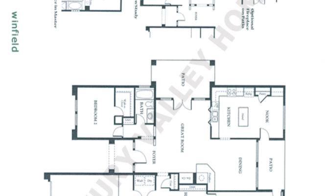 Patio Home Floor Plans Luxury Valley Homes Winfield