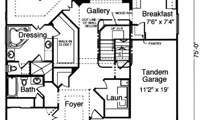 Patio Home Plans Pre Drawn Plan Collection