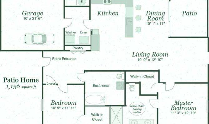 Patio Homes Floor Plans Gurus
