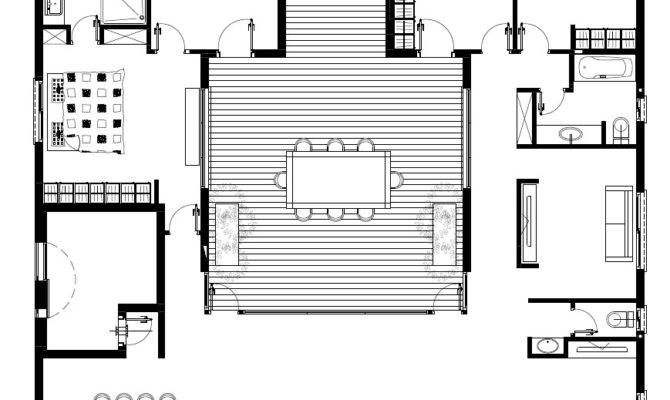 Patio House Henkin Shavit Architecture Design
