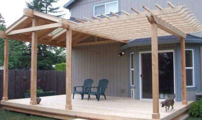 Patio Roofs Deck Roof Half Gable