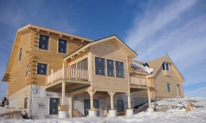 Patriot Log Home Builders Kay Hochsetler Garage