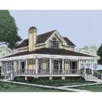 Patterson Park Country Farmhouse Plan House Plans More